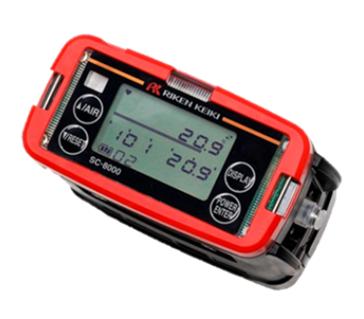 用于高压环境下的便携式氧气监测仪SC-8000(Pc)