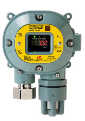 用于检测硫化氢/一氧化碳的智能型气体检测部/甲基硫醇气体检测部/可以检测加臭剂泄漏 SD-1EC