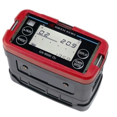 用于测定氧气浓度的便携式气体监测仪GX-8000 (TYPE O2)