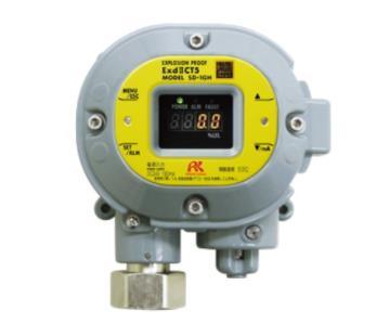 用于检测可燃性气体?毒性气体的智能型气体检测部 SD-1GH