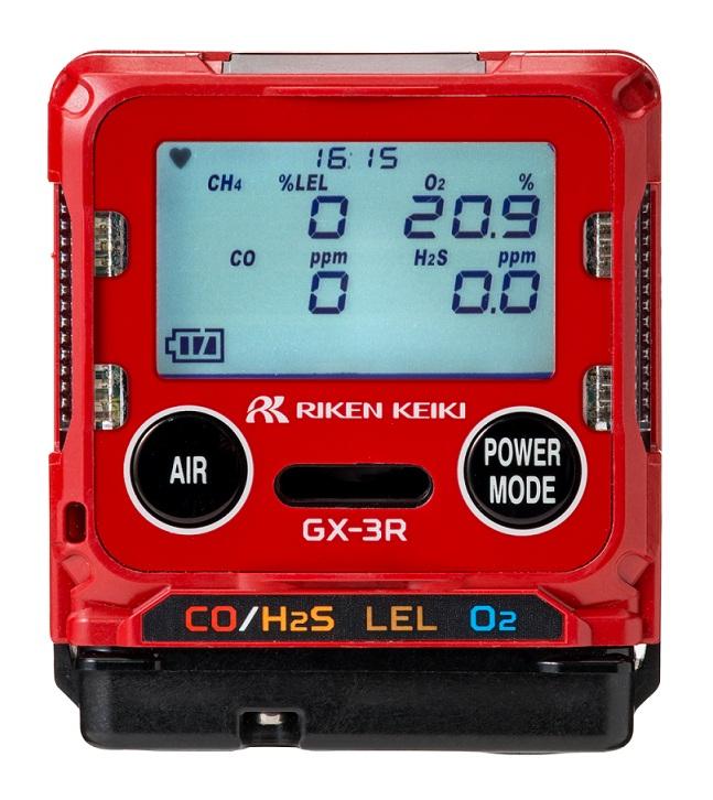 用于检测4种成分 便携式气体检测仪GX-3R