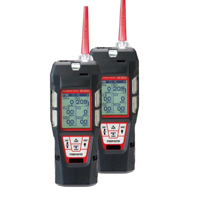 便携式6成分气体检测仪GX-6000